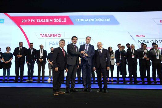 Design Turkey'den Koleksiyon'a 4 Ödül Birden