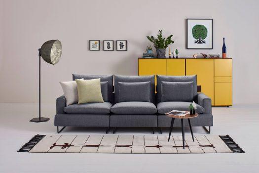 Evler için Yalın, Rahat ve Modüler Bir Tasarım: Soprano Kanepe